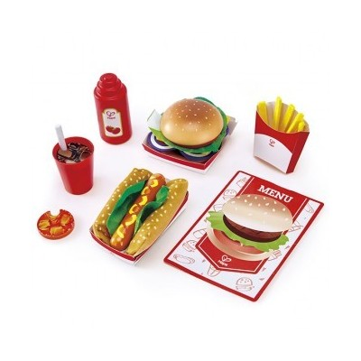 SET FAST FOOD HAPE