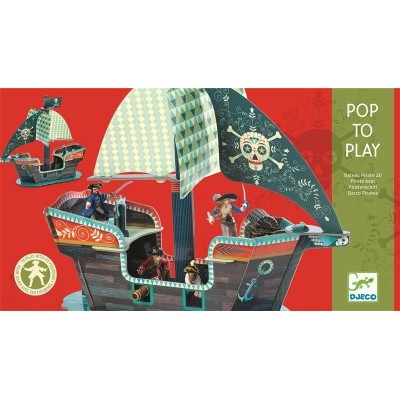 POP TO PLAY BARCO PIRATA 3D...
