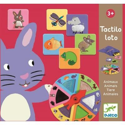 TACTILO LOTO LOS ANIMALES...