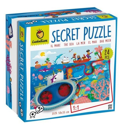 PUZZLE SECRETO EL MAR 24...