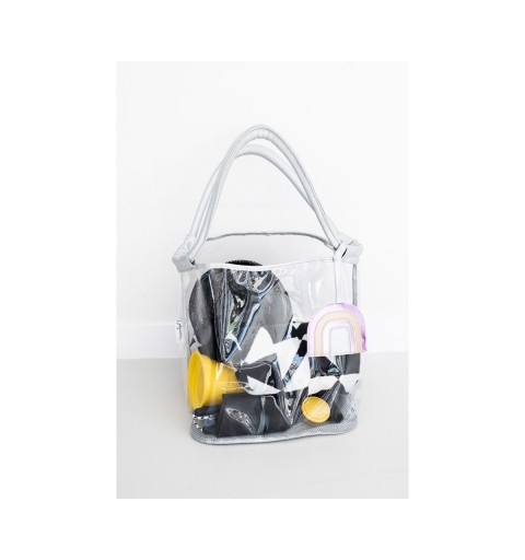 BOLSO PLAYA ANTI ARENA GRIS...