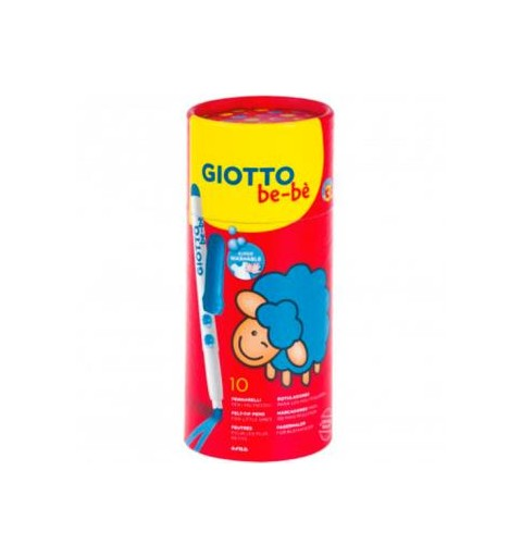 10 ROTULADORES GIOTTO BE-BÉ