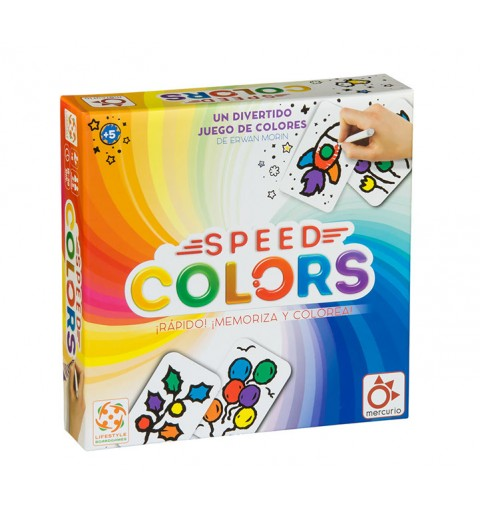SPEED COLORS MERCURIO