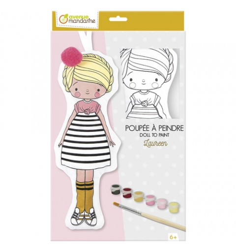 LAUREEN DOLL TO PAINT...
