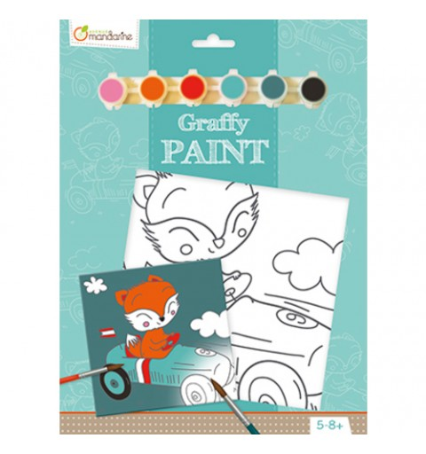 GRAFFY PAINT ZORRITO MANDARINE