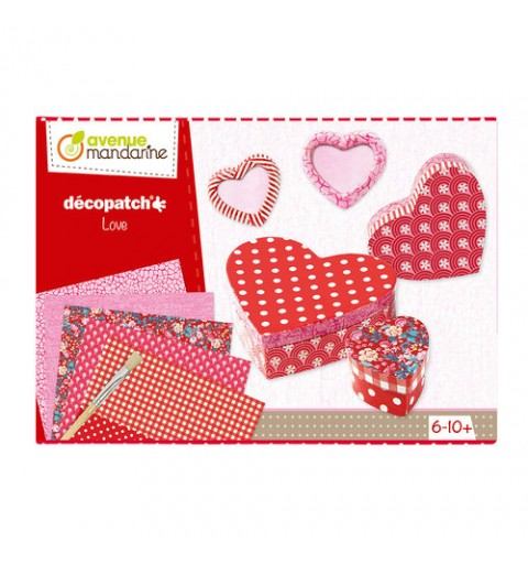 DECOPATCH LOVE MANDARINE