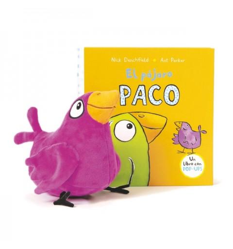 PACK PAJARO PACO+PELUCHE